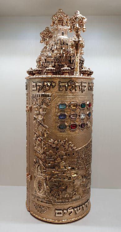 חדש! דגם בית המקדש זהב אדום