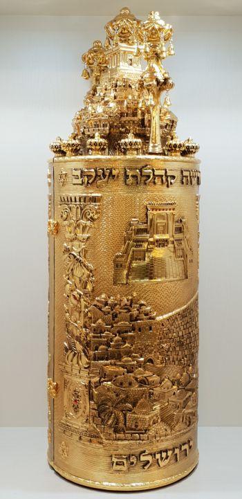 חדש! דגם בית המקדש זהב