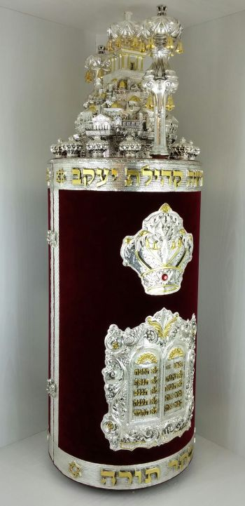 דגם כתר יוסף קטיפה